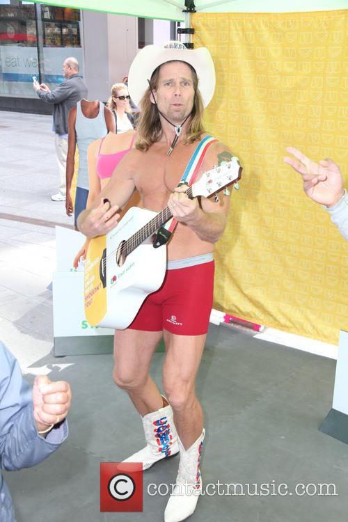 The Naked Cowboy Officially Changes His Underwear To...