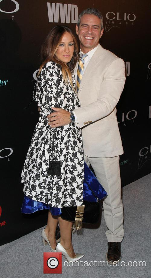 Sarah Jessica Parker and Andy Cohen 3
