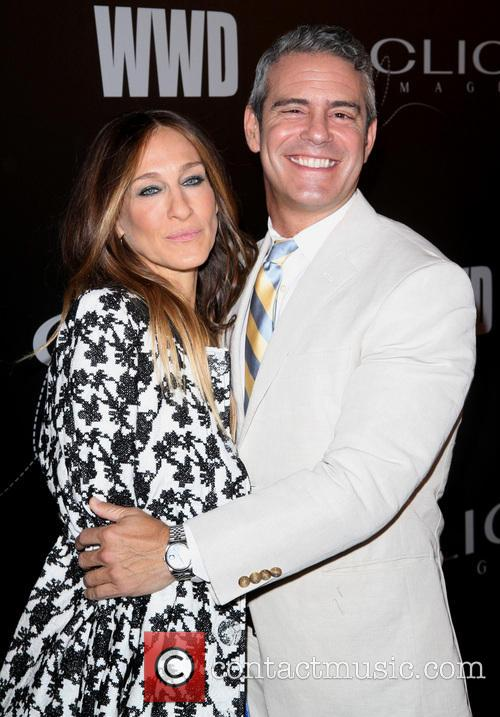 Sarah Jessica Parker and Andy Cohen 6
