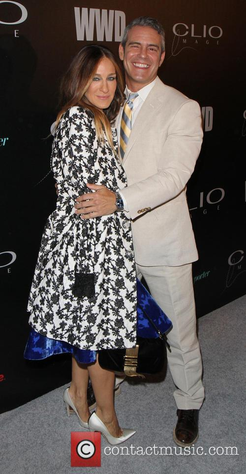 Sarah Jessica Parker and Andy Cohen 7