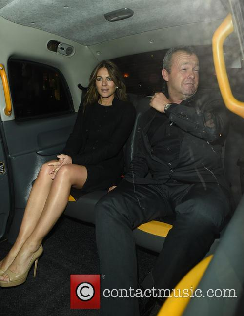 Elizabeth Hurley and David Yarrow 2