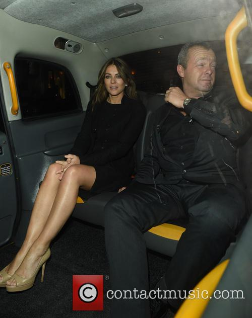 Elizabeth Hurley and David Yarrow 5