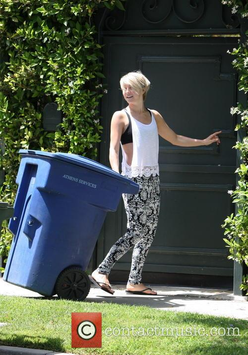 Julianne Hough Trash Collection