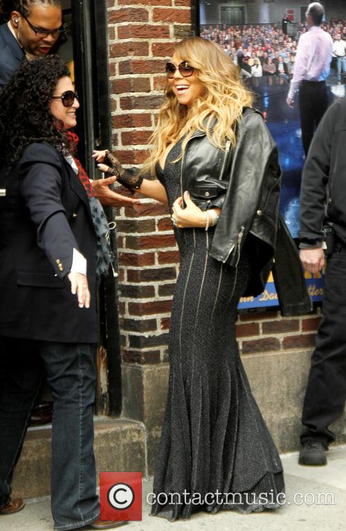 mariah carey late show with david letterman 4184499