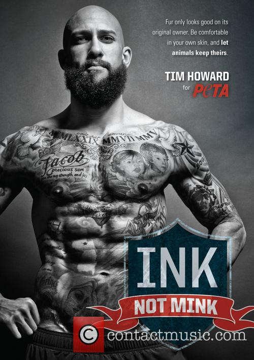 Tim Howard signs with PETA to save animals...