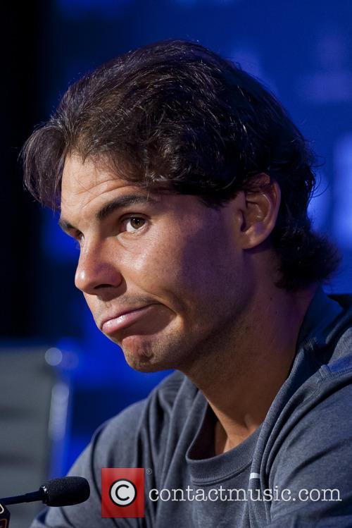 Rafa Nadal attends a press conference
