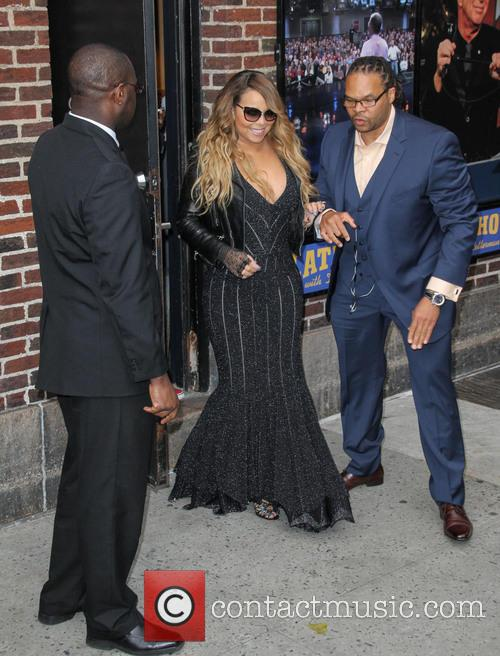 mariah carey celebrities visit the late show 4184839