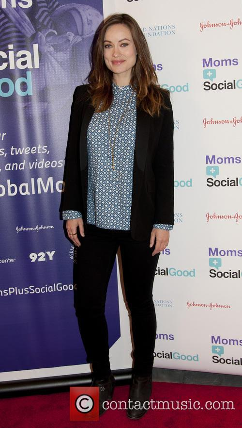 Olivia Wilde at Moms Social Good Conference
