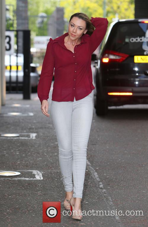 michelle heaton celebrities at the itv studios 4183392