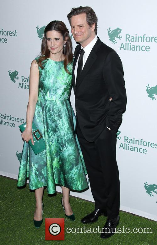 Livia Firth and Colin Firth 2