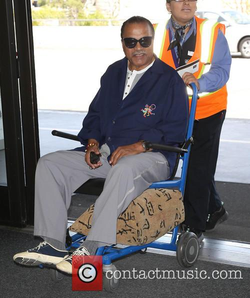 Billy Dee Williams At LAX
