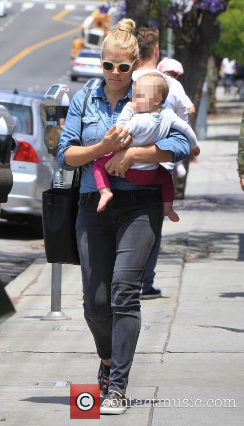 Busy Philipps out and about with daughter Cricket