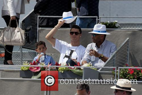 Cristiano Ronaldo, Cristiano Junior and Cristiano Jr 2