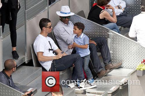 Cristiano Ronaldo, Cristiano Junior and Cristiano Jr 1