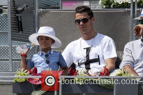 Cristiano Ronaldo, Cristiano Junior and Cristiano Jr 12