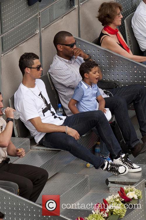 Cristiano Ronaldo, Cristiano Junior and Cristiano Jr 18