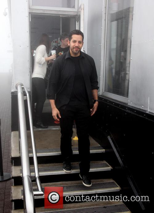 David Blaine, Rubik Visit The Empire and State Building 2