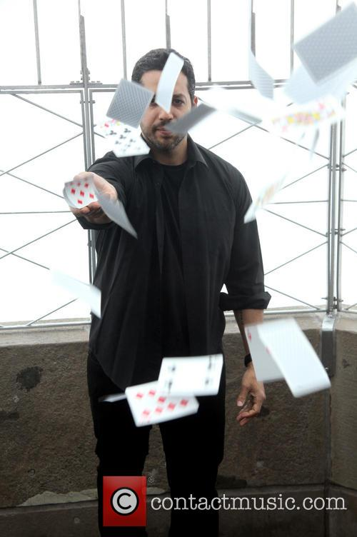 David Blaine, Rubik Visit The Empire and State Building 4