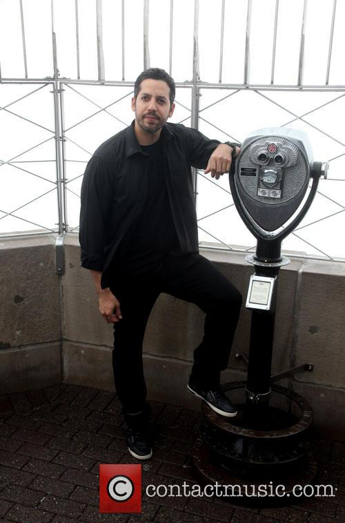 David Blaine, Rubik Visit The Empire and State Building 5