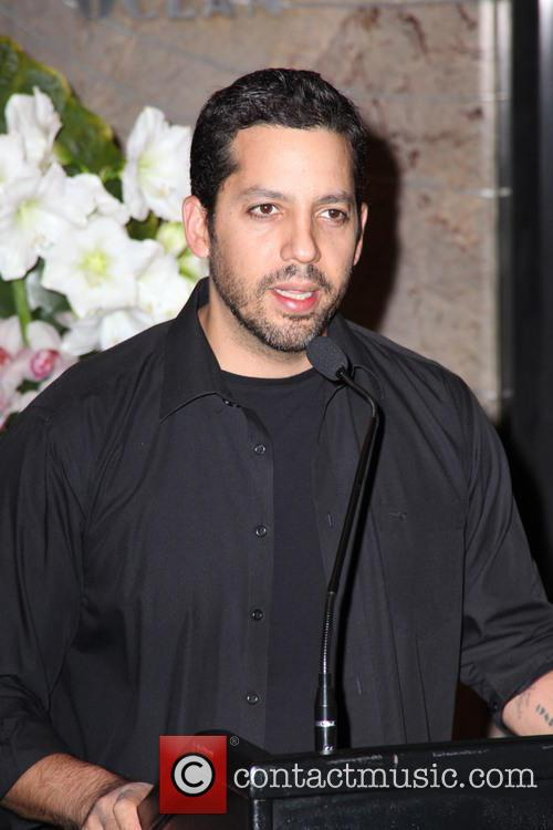 David Blaine, Rubik Visit The Empire and State Building 6