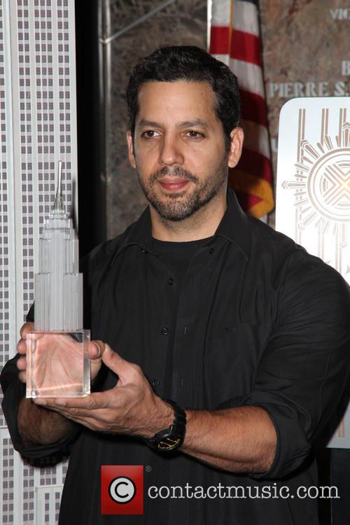 David Blaine, Rubik Visit The Empire and State Building 9