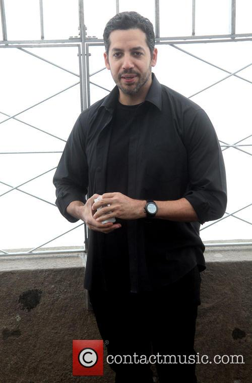 David Blaine, Rubik Visit The Empire and State Building 10