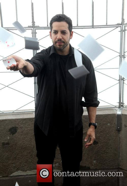 David Blaine, Rubik Visit The Empire and State Building 11