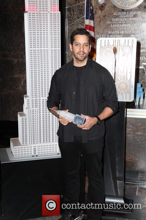 David Blaine, Rubik Visit The Empire and State Building 12