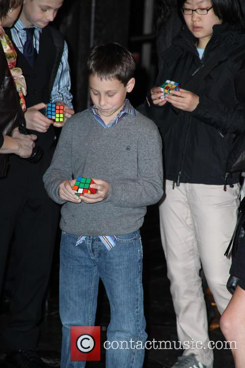 David Blaine, Rubik Visit The Empire and State Building 13