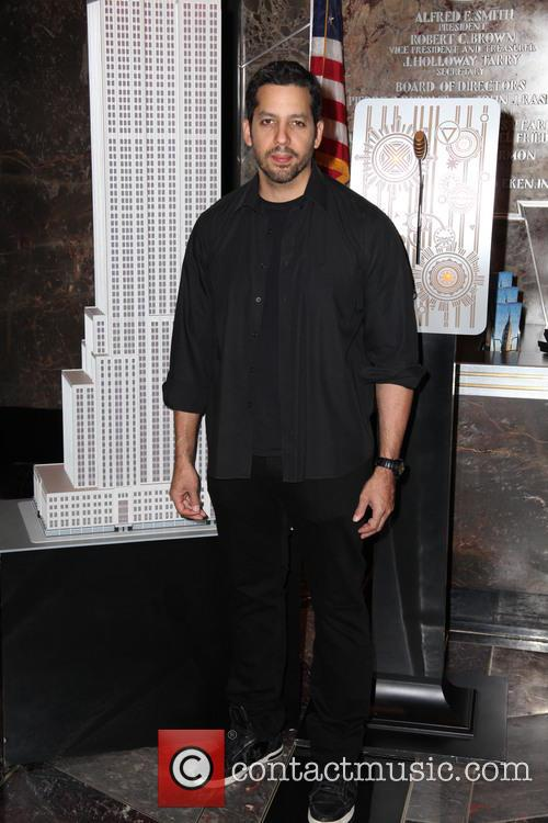 David Blaine, Rubik Visit The Empire and State Building 15