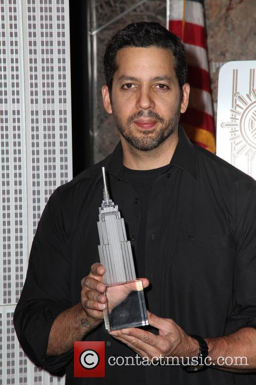 David Blaine, Rubik Visit The Empire and State Building 1