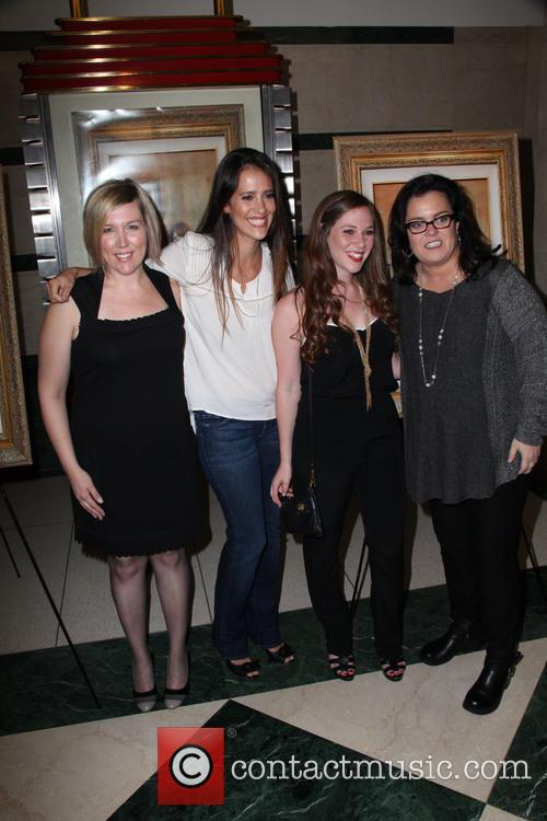 Ginger Williams-cook, Leticia Guimares-lyle, Jordyn Levine and Rosie O'donnell 1