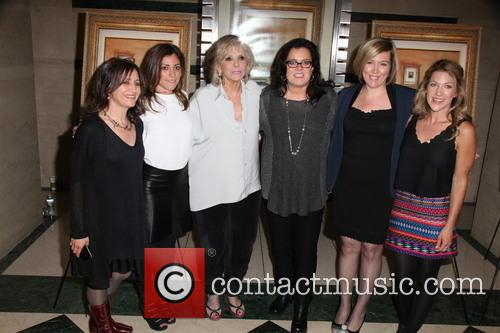 L To R, Stacey Reiss, Carlye Rubin, Sheila Nevins, Rosie O'donnell, Ginger Williams-cook and Katie Green 4