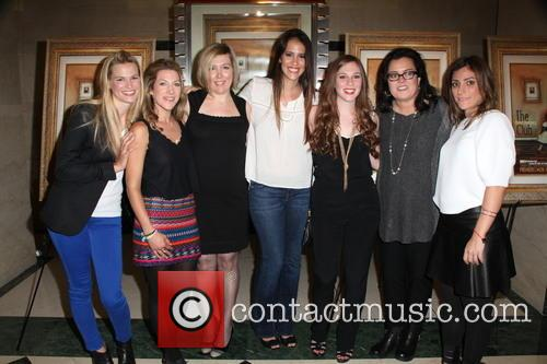L To R, Tina Grapenthin, Katie Green, Ginger Williams-cook, Leticia Guimares-lyle, Jordyn Levine, Rosie O'donnell and Carlye Rubin 1