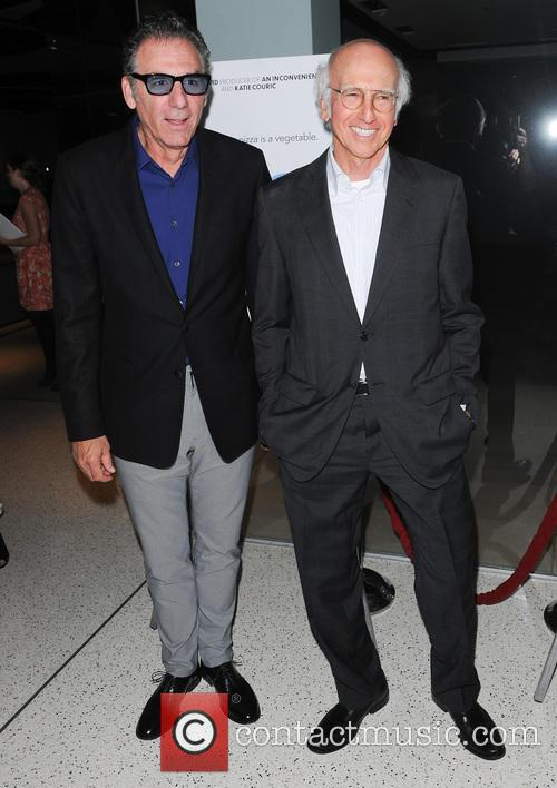 Michael Richards and Larry David 9