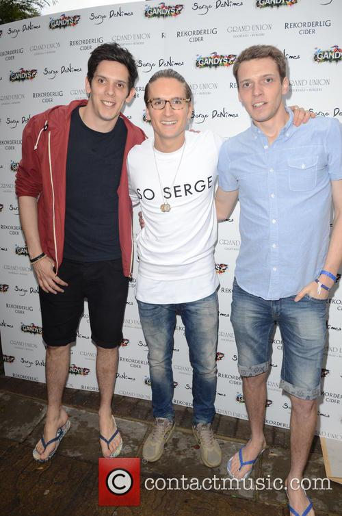 Oliver Proudlock and With X Gandys 8