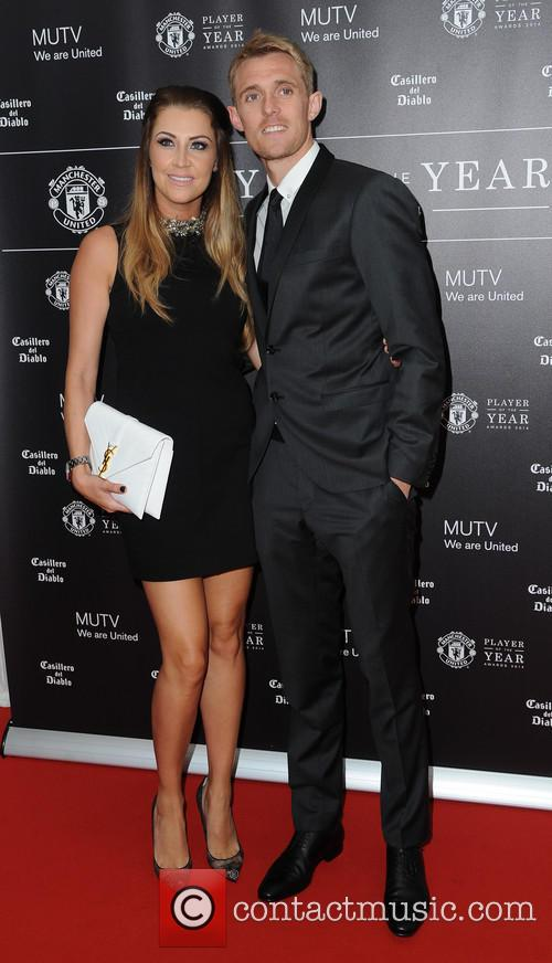Manchester United, Darren Fletcher and Hayley Grice 7
