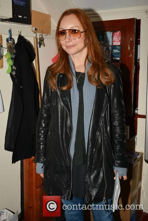 Tori Amos backstage at The Olympia Theatre