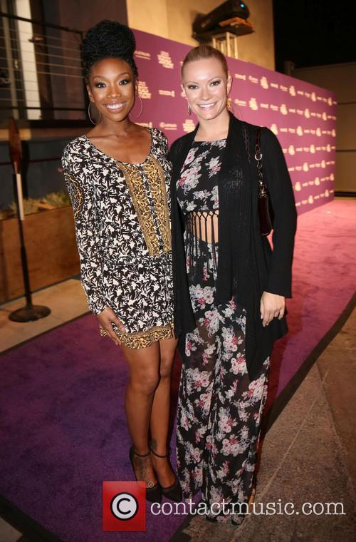 Brandy Norwood and Caitlin O'connor 2