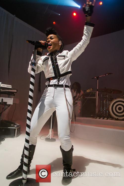Janelle Monae performing live The Institute