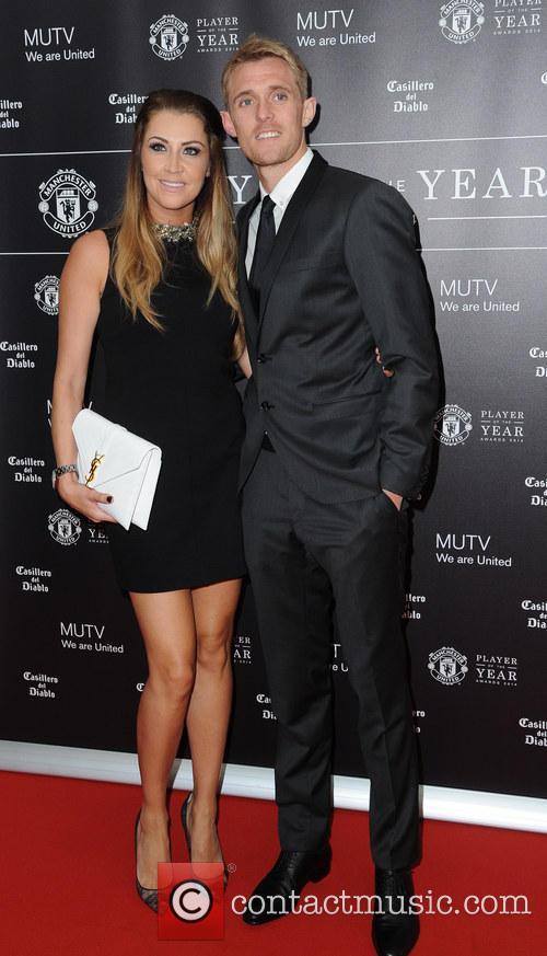 Manchester United, Darren Fletcher and Hayley Grice 2