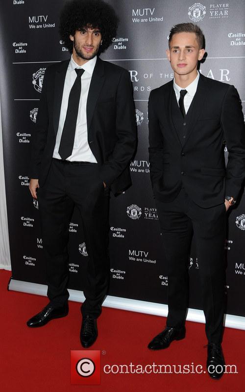 Manchester United, Marouane Fellaini and Adnan Januzaj 10