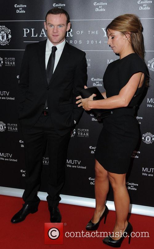 Wayne Rooney and Coleen Rooney 3