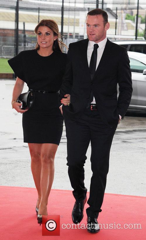 Wayne Rooney and Coleen Rooney 4