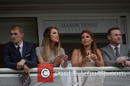Wayne Rooney, Coleen Rooney, Darren Fletcher and Hayley Grice 2