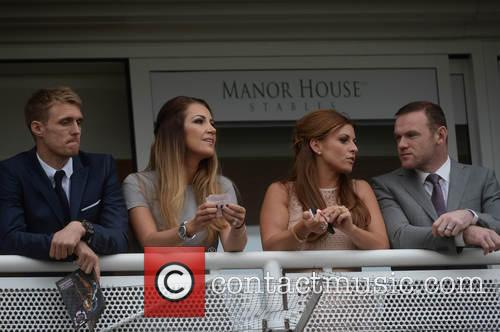 Wayne Rooney, Coleen Rooney, Darren Fletcher and Hayley Grice 1