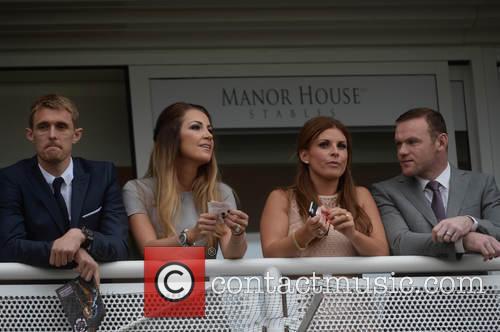 Wayne Rooney, Coleen Rooney, Darren Fletcher and Hayley Grice 4