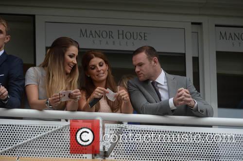 Wayne Rooney, Coleen Rooney, Darren Fletcher and Hayley Grice 5