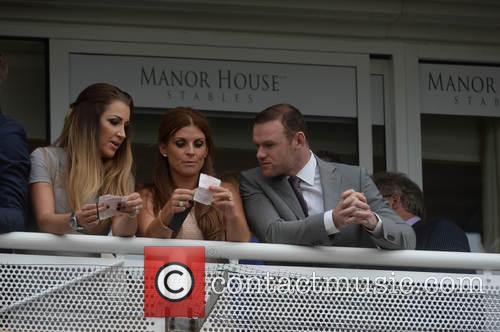 Wayne Rooney, Coleen Rooney, Darren Fletcher, Hayley Grice