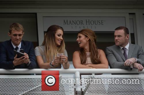 Wayne Rooney, Coleen Rooney, Darren Fletcher and Hayley Grice 7